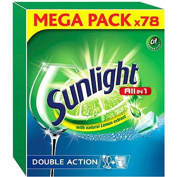 Tablety do myčky SUNLIGHT All in 1 (78 ks) (8710908671081)