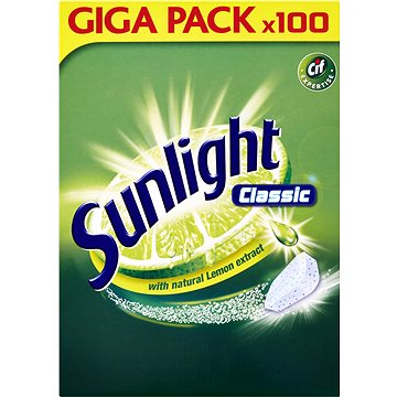 Tablety do myčky SUNLIGHT Classic (100 ks) (8710908666926)