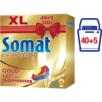 Tablety do myčky SOMAT Gold 40+5 ks (9000101306996)