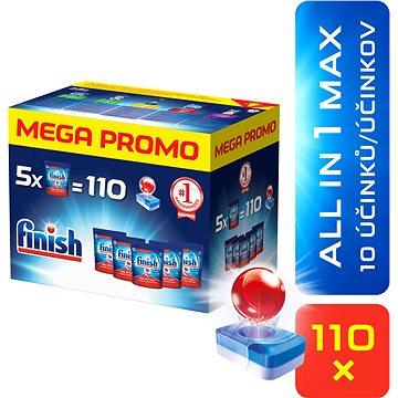 Tablety do myčky FINISH All in1 Max 110 ks MEGABOX (5997321734750)
