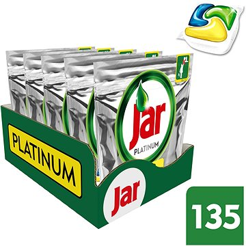 Tablety do myčky JAR Platinum All in 1 MEGABOX 135 ks (8001090447067)