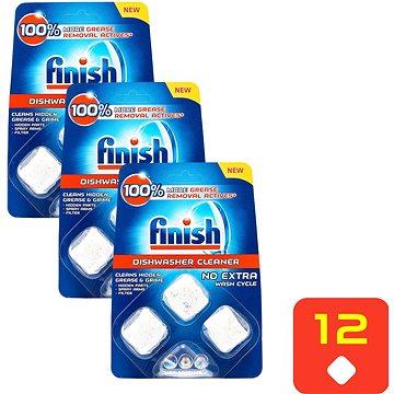 FINISH Kapsle na čištění myčky 3 × 3 ks