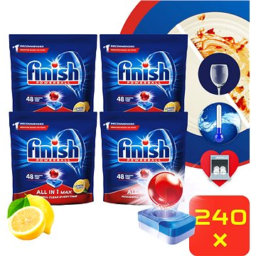 FINISH All-in-1 Max Lemon 240 ks (15997321736263)