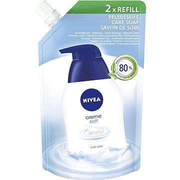Nivea Creme Soft tekuté mýdlo náhradní náplň 500 ml