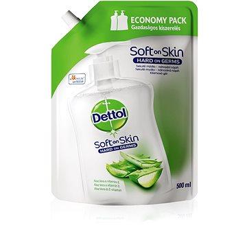 Tekuté mýdlo DETTOL Aloe Vera a vitamín E 500 ml náplň (5997321780931)