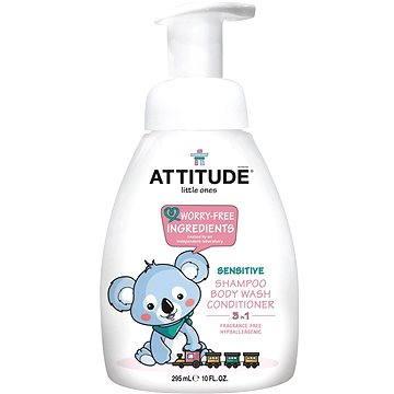Tekuté mýdlo ATTITUDE Dětské mýdlo bez vůně 300 ml (626232466027)