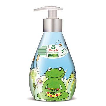 Tekuté mýdlo FROSCH EKO Tekuté mýdlo pro děti s dávkovačem 300 ml (4001499116858)