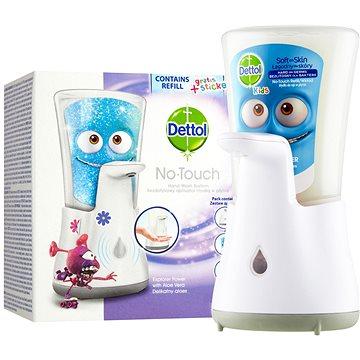 DETTOL Kids Bezdotykový dávkovač mýdla Dobrodruh 250 ml (5997321781228)