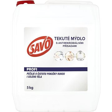 SAVO Tekuté mýdlo 5 kg (8710447441565)