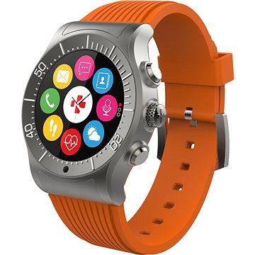 Chytré hodinky MyKronoz ZeSport Titanium Orange (KRZESPORT - TITANIUM)