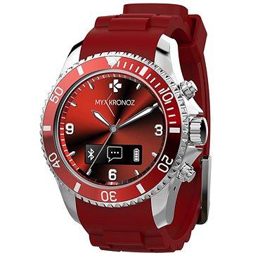 Chytré hodinky MyKronoz ZeClock Red Rouge (KRZECLOCK-RED)