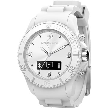 Chytré hodinky MyKronoz ZeClock White Blanc (KRZECLOCK-WHITE)