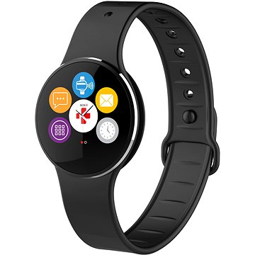 Chytré hodinky MyKronoz ZeCircle2 Black (KRZECIRCLE2-BLACK)