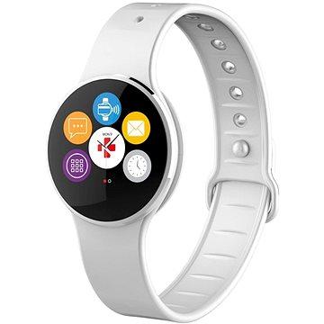 Chytré hodinky MyKronoz ZeCircle2 Silver White (KRZECIRCLE2-SILVER)