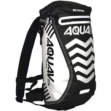 OXFORD vodotěsný batoh Aqua V20 Extreme Visibility, (černá/reflexní prvky), objem 20l (M006-129)