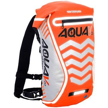 OXFORD vodotěsný batoh Aqua V20 Extreme Visibility, (oranžová fluo/reflexní prvky), objem 20l (M006-131)