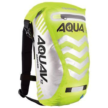 OXFORD vodotěsný batoh Aqua V12 Extreme Visibility, (žlutá fluo/reflexní prvky), objem 12l (M006-166)