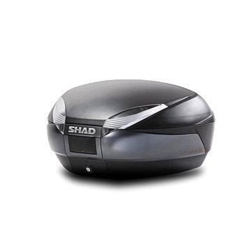 SHAD Vrchní kufr na motorku SH48 Tmavě šedý se zámkem PREMIUM SMART (D0B48300)
