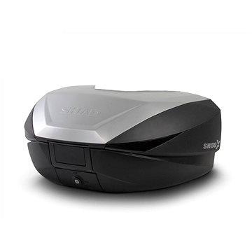 SHAD Vrchní kufr na motorku SH59X černý s hliníkovým krytem (rozšiřitelný koncept) se zámkem PREMIU (D0B59200)