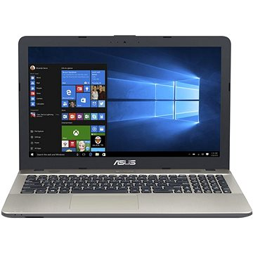 ASUS VivoBook Max X541NA-GO120T Chocolate Black + ZDARMA Myš Microsoft Wireless Mobile Mouse 1850 Black