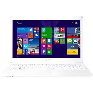 ASUS VivoBook R517NA-GO056T White + ZDARMA Myš Microsoft Wireless Mobile Mouse 1850 Black