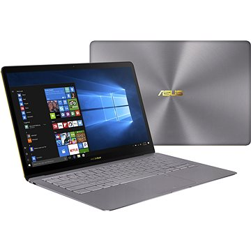 ASUS ZENBOOK 3 Deluxe UX490UA-BE054R Gray Metal + ZDARMA Myš Microsoft Wireless Mobile Mouse 1850 Black
