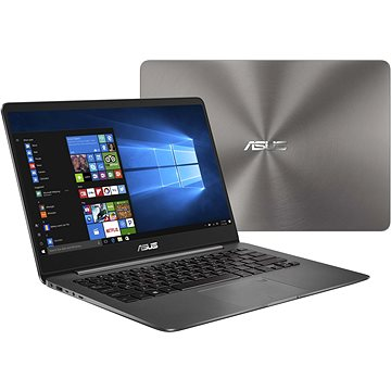 ASUS ZENBOOK UX430UN-GV102R Grey Metal + ZDARMA Myš Microsoft Wireless Mobile Mouse 1850 Black