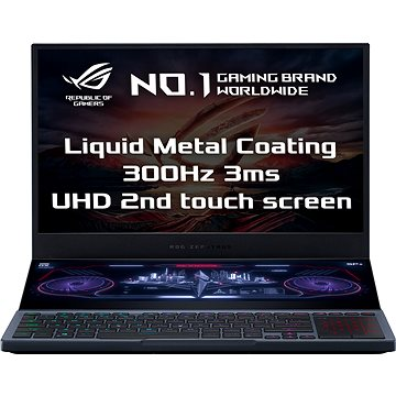 Asus ROG Zephyrus Duo GX550LXS-HF113T Gunmetal Gray kovový (GX550LXS-HF113T)