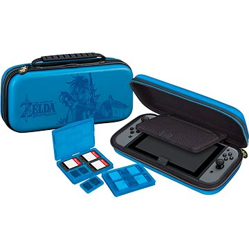 BigBen Official travel case Zelda modrý - Nintendo Switch (NNS42)