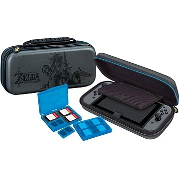 BigBen Official travel case Zelda šedý - Nintendo Switch (NNS44)