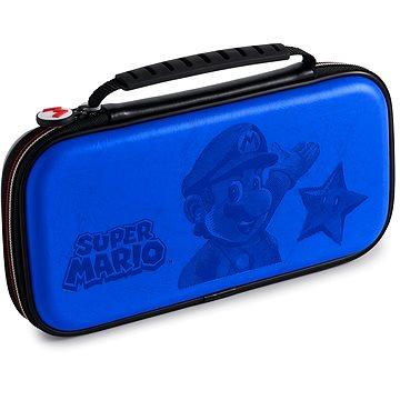 BigBen Official Super Mario travel case modrý - Nintendo Switch (663293110964)