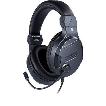 BigBen PS4 Stereo-Headset v3 - titan (3499550381450)