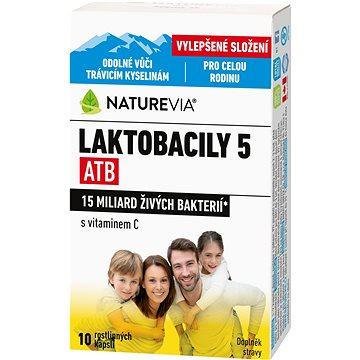Swiss NatureVia® Laktobacily 5 ATB cps.10 (3875235)