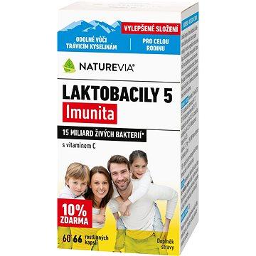 Swiss NatureVia® Laktobacily 5 Imunita cps.66 (3875268)