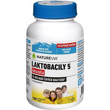 Swiss NatureVia® Laktobacily 5 Imunita cps.120 (3875276)