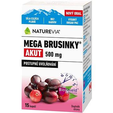 Swiss NatureVia Mega brusinky Akut cps.15 (3661361)
