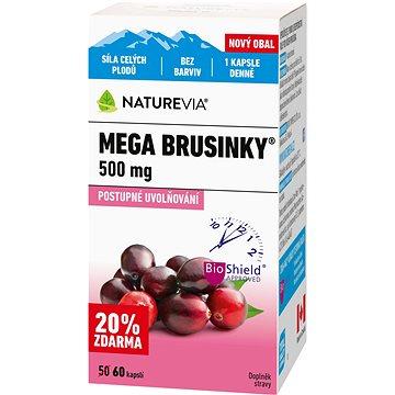Swiss NatureVia Mega brusinky cps.50+10 (3661353)