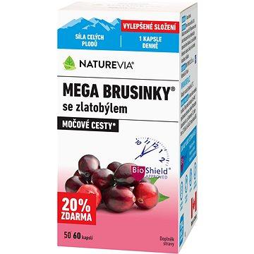 Swiss NatureVia® Mega brusinky cps.60 (3976900)