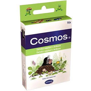 COSMOS Náplast dětská s krtkem - 3 velikosti (16 ks) (4052199233147)
