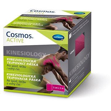 COSMOS Active tejpovací páska růžová 5 cm x 5 m (4052199291420)