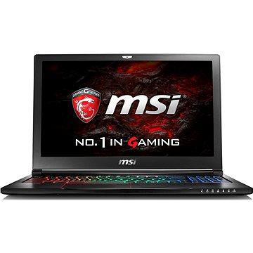 MSI GS63VR 6RF-052CZ Stealth Pro + ZDARMA Poukaz v hodnotě 500 Kč (elektronický) na příslušenství k notebookům. Poukaz má platnost do 30.5.2017.
