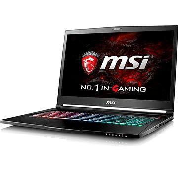 MSI GS73VR 6RF-048CZ Stealth Pro + ZDARMA Poukaz v hodnotě 500 Kč (elektronický) na příslušenství k notebookům. Poukaz má platnost do 30.5.2017.
