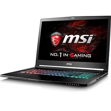 MSI GS73VR 7RF-221CZ Stealth Pro + ZDARMA Poukaz v hodnotě 500 Kč (elektronický) na příslušenství k notebookům. Poukaz má platnost do 30.5.2017.