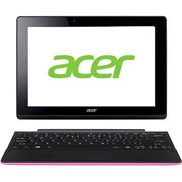 Acer Aspire Switch 10E 64GB + dock s 500GB HDD a klávesnicí Pink Black (NT.G8ZEC.001) + ZDARMA Poukaz Elektronický dárkový poukaz Alza.cz v hodnotě 666 Kč, platnost do 23/12/2016