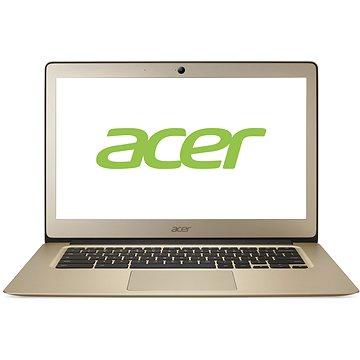 Acer Chromebook 14 Gold Aluminium (NX.GJEEC.001) + ZDARMA Digitální předplatné Týden - roční