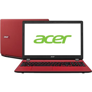 Acer Aspire ES15 Piros (NX.GCGEU.011) + ZDARMA Digitální předplatné Interview - SK - Roční od ALZY
