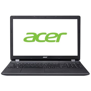 Acer Aspire ES15 Fekete (NX.GCEEU.073_W10) + ZDARMA Hra pro PC Minecraft Myš Microsoft Wireless Mobile Mouse 1850 Black
