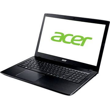 Acer Aspire E15 Obsidian Black Aluminium (NX.GDWEC.018) + ZDARMA Poukaz v hodnotě 500 Kč (elektronický) na příslušenství k notebookům. Poukaz má platnost do 30.5.2017.