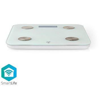 NEDIS Wi-Fi chytrá osobní váha WIFIHS10WT (WIFIHS10WT)