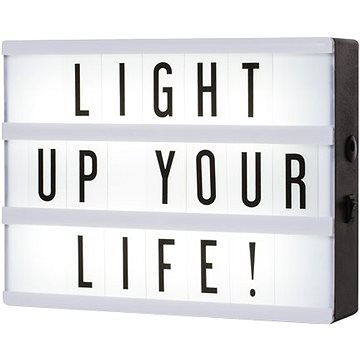 Smartwares LED svítidlo A5 vč. 85 znaků 10.043.66 (10.043.66)